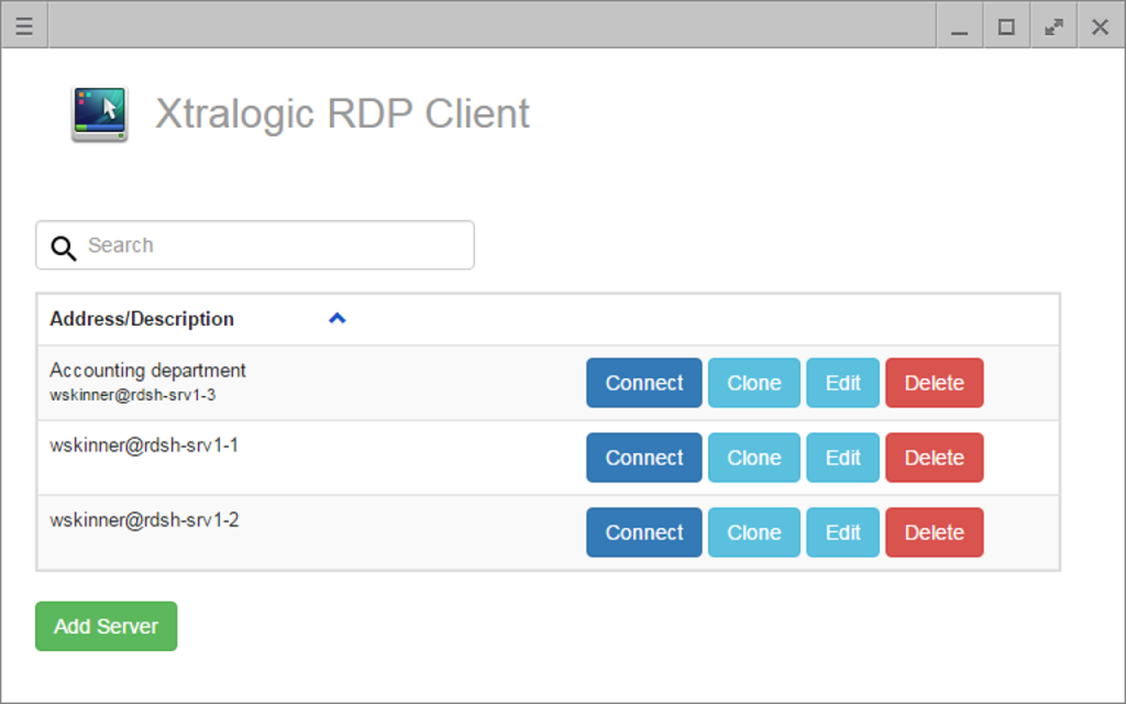 RDP Client for Chrome | Xtralogic, Inc
