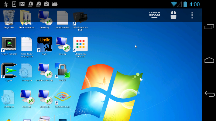 Remote Desktop Client For Android | Xtralogic, Inc